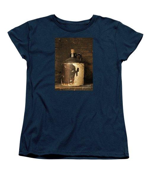 Buddy Bear Moonshine Jug Women's T-Shirt (Standard Cut)