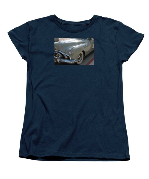 Women's T-Shirt (Standard Cut) featuring the photograph Buick Roadmaster by Connie Fox