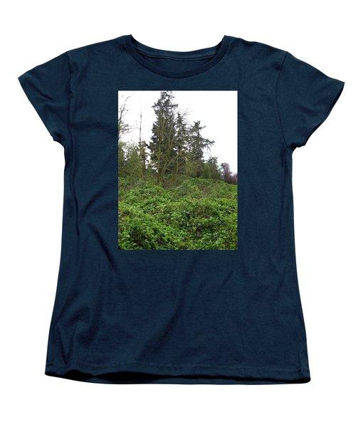 Bus Stop Greenbelt Women's T-Shirt (Standard Cut) by David Trotter