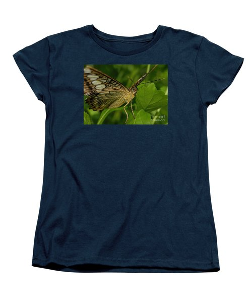 Women's T-Shirt (Standard Cut) featuring the photograph Butterfly 2 by Olga Hamilton