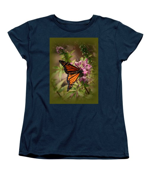 Women's T-Shirt (Standard Cut) featuring the photograph Butterfly 5 by Leticia Latocki