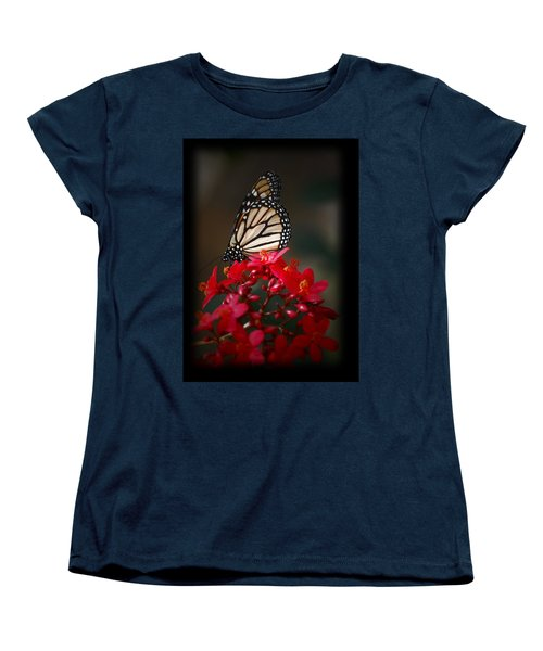 Women's T-Shirt (Standard Cut) featuring the photograph Butterfly 6 by Leticia Latocki