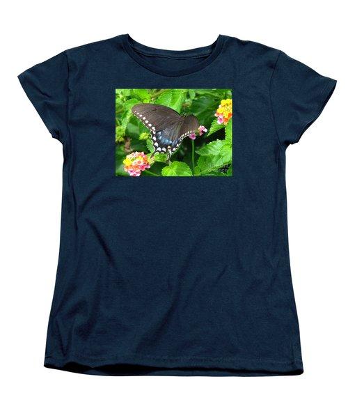 Butterfly Ballot Women's T-Shirt (Standard Cut) by Greg Patzer