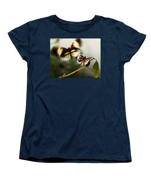 Butterfly In Flight Women's T-Shirt (Standard Cut) by Bradley R Youngberg