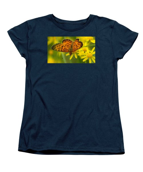 Women's T-Shirt (Standard Cut) featuring the photograph Butterfly by James Peterson