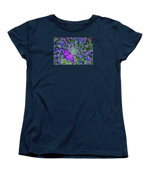 Women's T-Shirt (Standard Cut) featuring the digital art Butterfly.1 by Mariarosa Rockefeller