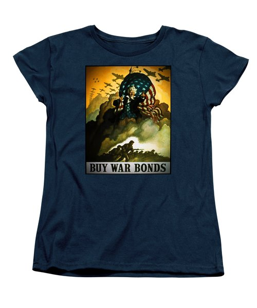 Buy War Bonds Women's T-Shirt (Standard Cut) by Robert Geary
