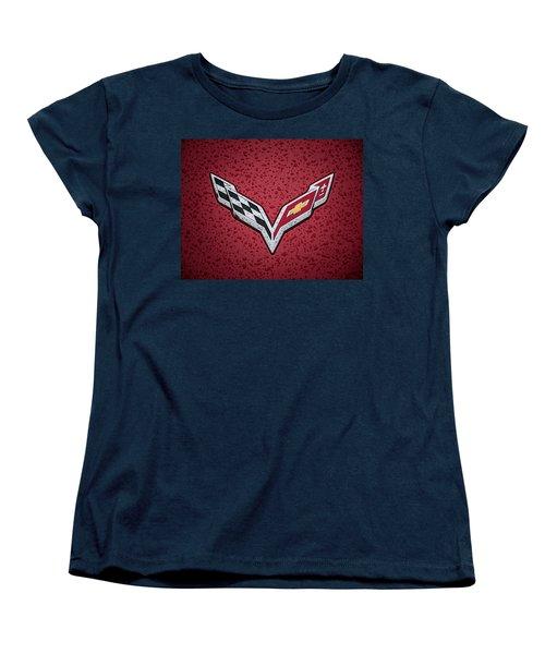 C7 Badge Women's T-Shirt (Standard Cut) by Douglas Pittman