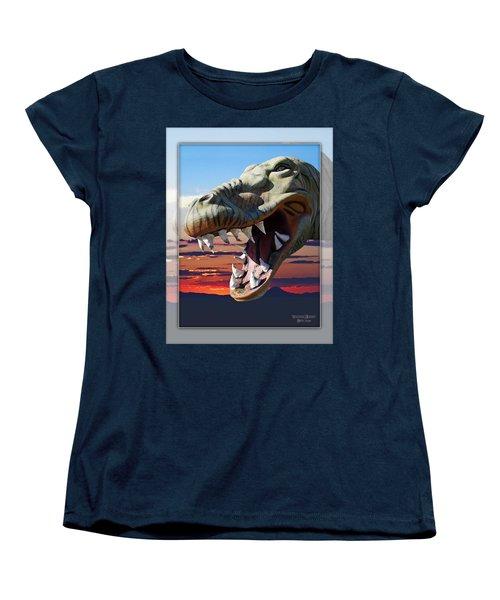 Cabazon Dinosaur Women's T-Shirt (Standard Cut)