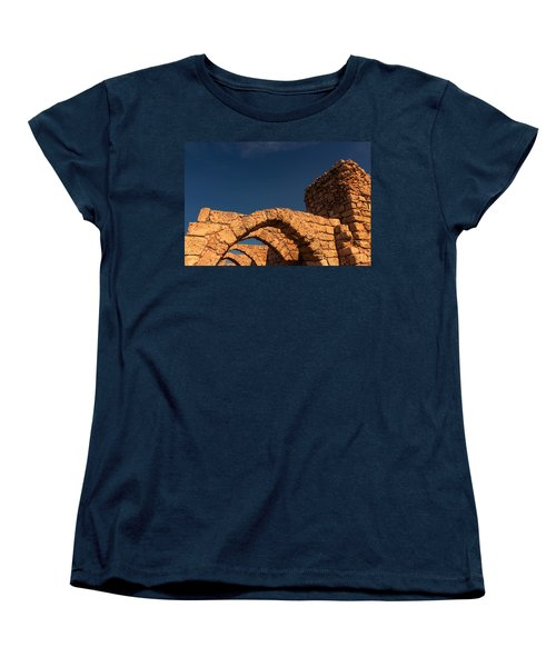 Caesarea Women's T-Shirt (Standard Cut) by David Gleeson