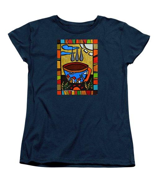 Cafe Criollo  Women's T-Shirt (Standard Cut) by Oscar Ortiz