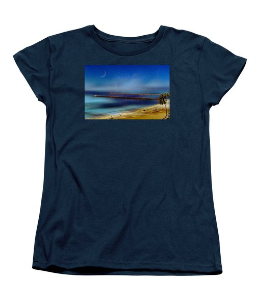 California Dreaming Women's T-Shirt (Standard Cut) by Tammy Espino