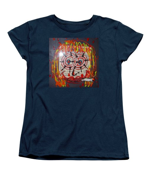 Women's T-Shirt (Standard Cut) featuring the painting Camille by Lisa Piper