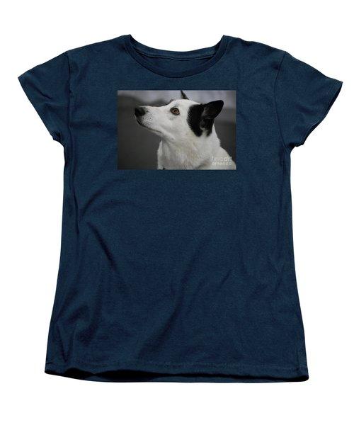 Canaan Dog Women's T-Shirt (Standard Cut) by DejaVu Designs