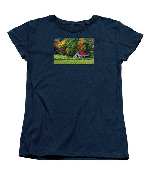 Candy Mountain Women's T-Shirt (Standard Cut) by Debra and Dave Vanderlaan