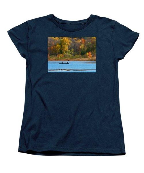 Canoer 2 Women's T-Shirt (Standard Cut) by Aimee L Maher Photography and Art Visit ALMGallerydotcom