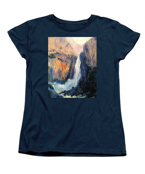 Canyon Blues Women's T-Shirt (Standard Cut) by Gail Kirtz