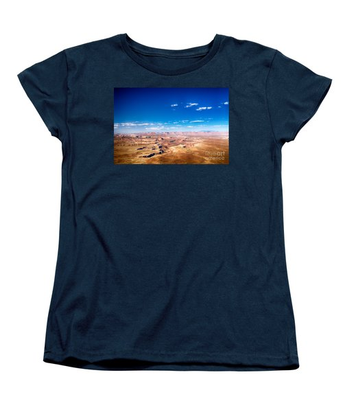 Canyon Lands Best Women's T-Shirt (Standard Cut) by Juergen Klust