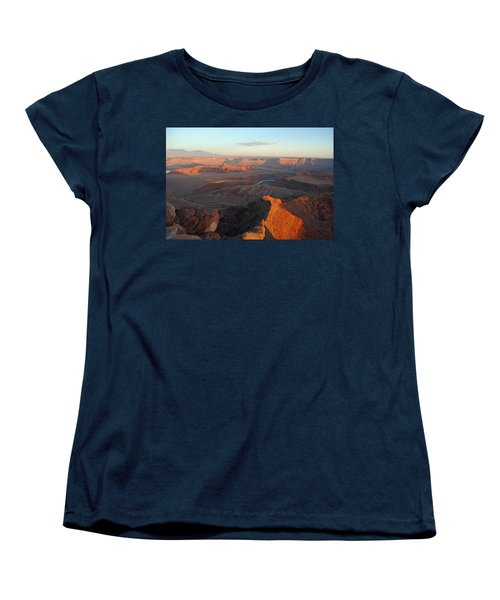 Women's T-Shirt (Standard Cut) featuring the photograph Canyonlands Np Dead Horse Point 21 by Jeff Brunton