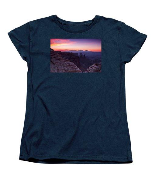 Canyonlands Sunrise Women's T-Shirt (Standard Cut)
