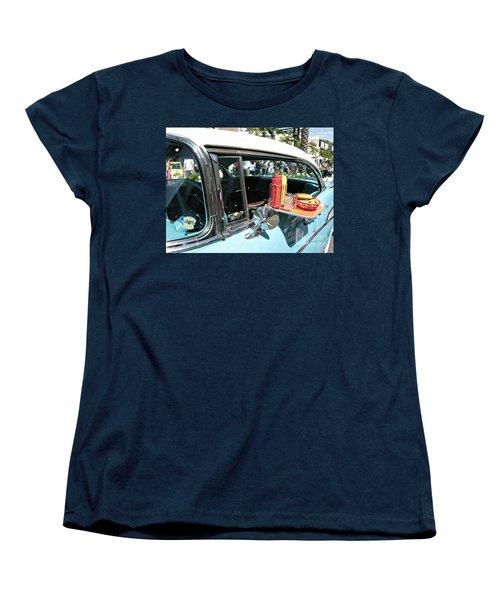 Car Hop Women's T-Shirt (Standard Cut) by Nina Prommer