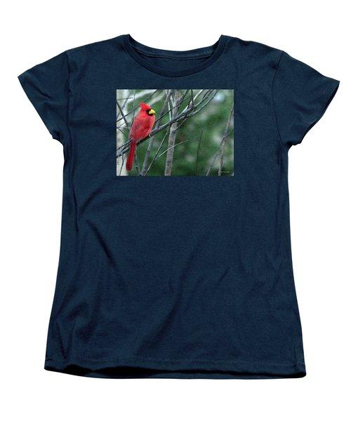 Cardinal West Women's T-Shirt (Standard Cut) by Jeff Kolker