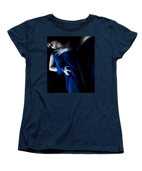Carnal Blue Women's T-Shirt (Standard Cut) by Jessica Shelton