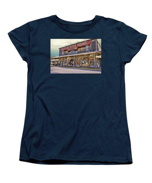 Casey Jones Village Store Women's T-Shirt (Standard Cut) by Bonnie Willis