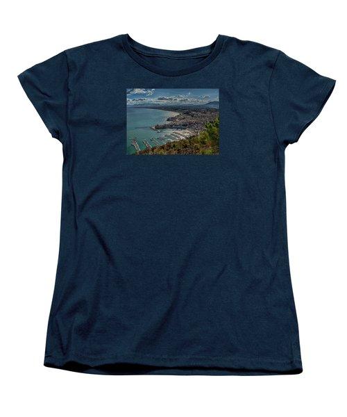 Castellammare Del Golfo Women's T-Shirt (Standard Cut) by Alan Toepfer