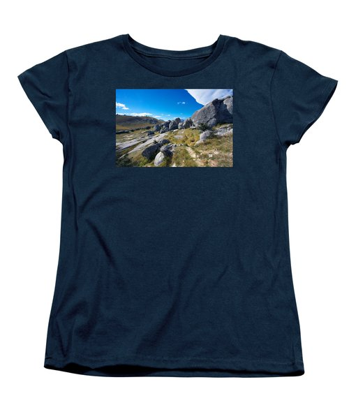 Castle Hill #4 Women's T-Shirt (Standard Cut) by Stuart Litoff