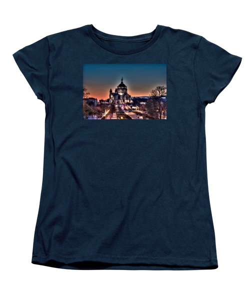 Cathedral Of Saint Paul Women's T-Shirt (Standard Cut) by Amanda Stadther