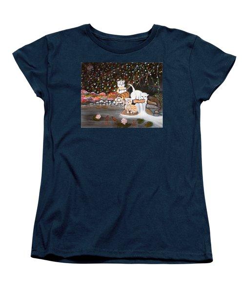Cats In The Wild II Women's T-Shirt (Standard Cut)