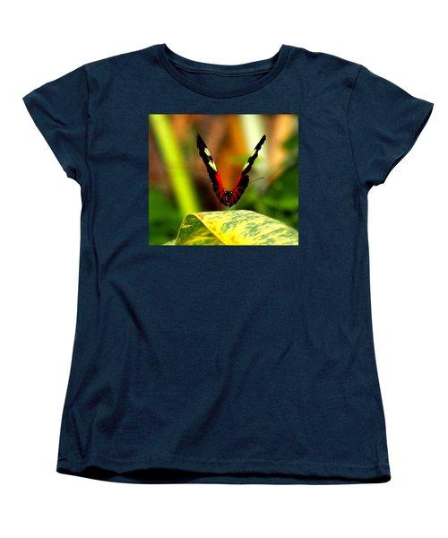 Women's T-Shirt (Standard Cut) featuring the photograph Cattleheart Butterfly  by Amy McDaniel