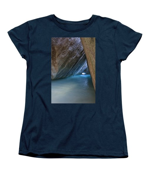 Cave At The Baths Women's T-Shirt (Standard Cut) by Adam Romanowicz