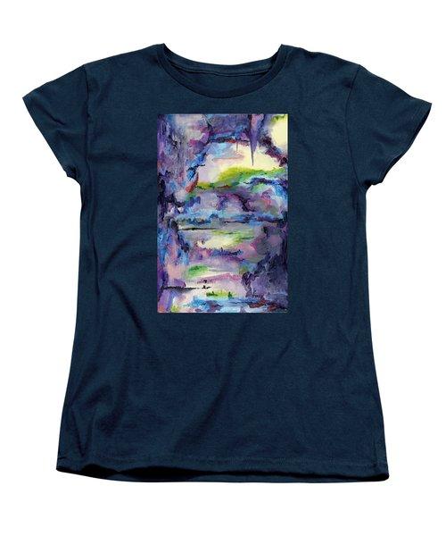 Cave Painting Women's T-Shirt (Standard Cut) by Regina Valluzzi