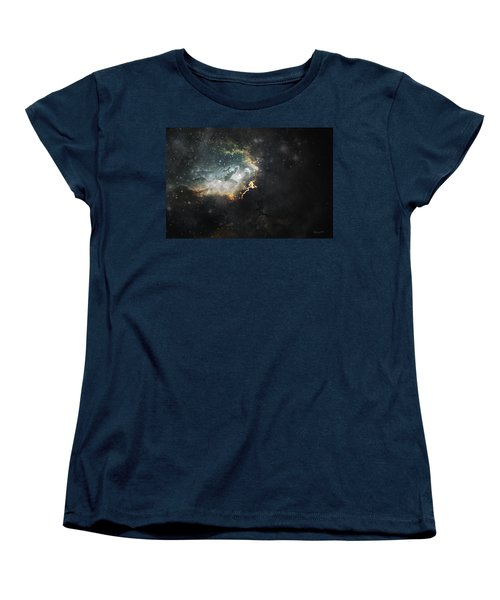 Women's T-Shirt (Standard Cut) featuring the photograph Celestial by Cynthia Lassiter