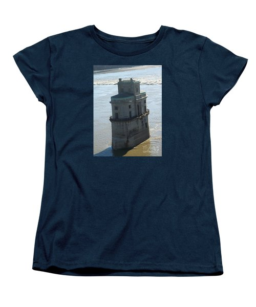 Chain Of Rocks Women's T-Shirt (Standard Cut) by Kelly Awad