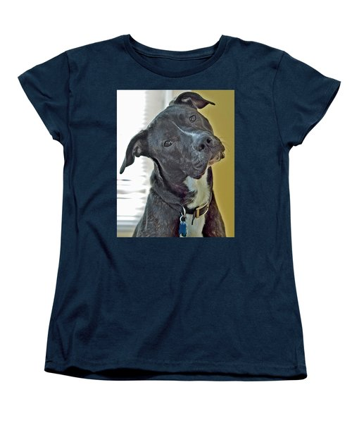 Women's T-Shirt (Standard Cut) featuring the photograph Charlie by Lisa Phillips