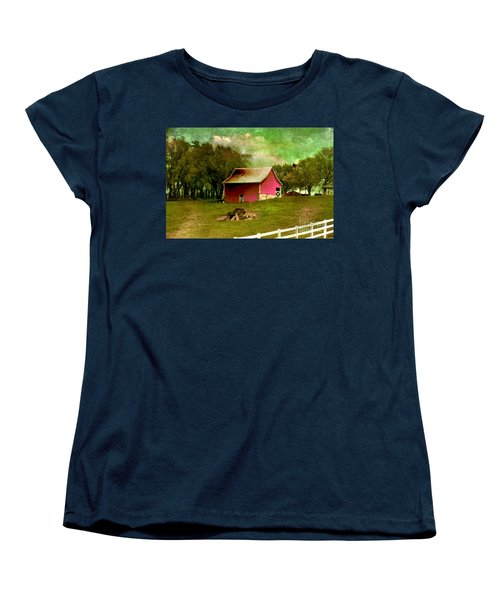 Women's T-Shirt (Standard Cut) featuring the photograph Chartreuse Of Legend by Liane Wright