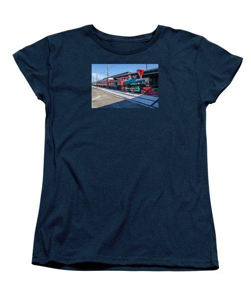 Women's T-Shirt (Standard Cut) featuring the photograph Chattanooga Choo Choo by Susan  McMenamin