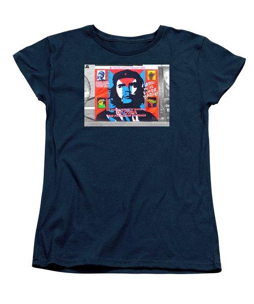 Che Guevara Women's T-Shirt (Standard Cut) by Nina Ficur Feenan