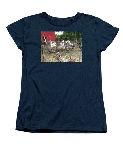 Chicken Coop. Women's T-Shirt (Standard Cut)