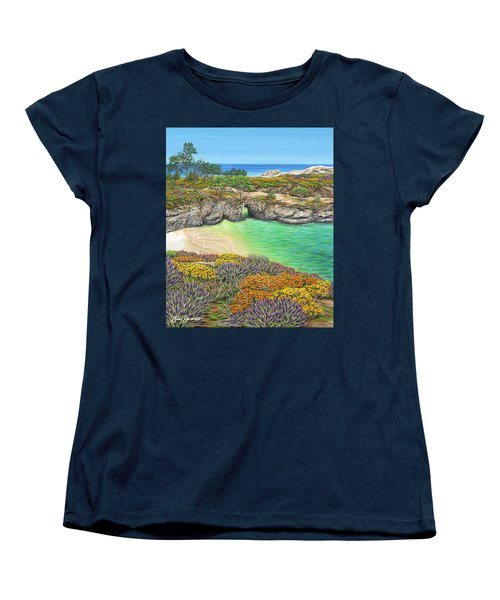 China Cove Paradise Women's T-Shirt (Standard Cut)
