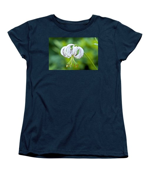 Women's T-Shirt (Standard Cut) featuring the photograph Chinese Lily by Lana Enderle