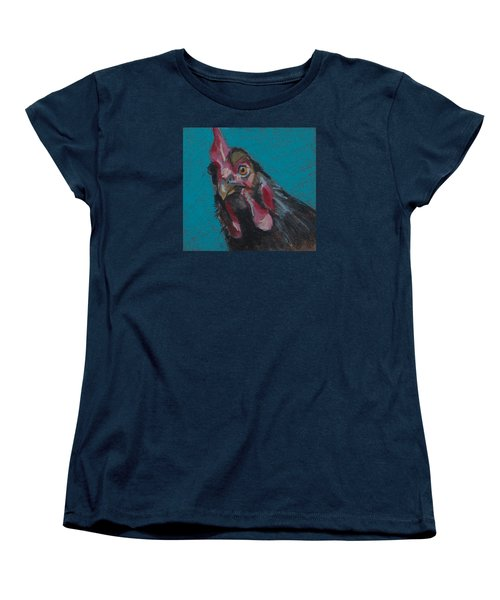 Women's T-Shirt (Standard Cut) featuring the painting Chuck by Pattie Wall