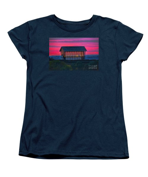 Church On The Hill Women's T-Shirt (Standard Cut) by Elizabeth Winter