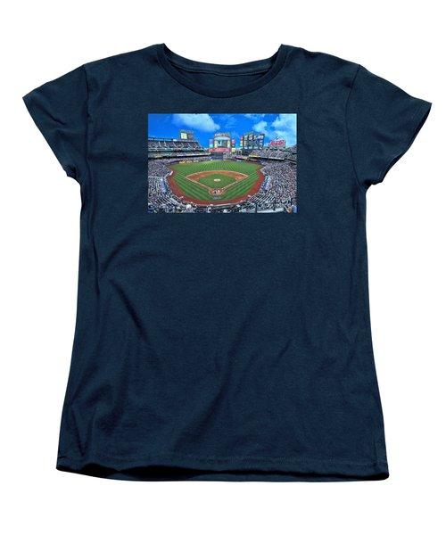 Citi Field Women's T-Shirt (Standard Cut) by Allen Beatty