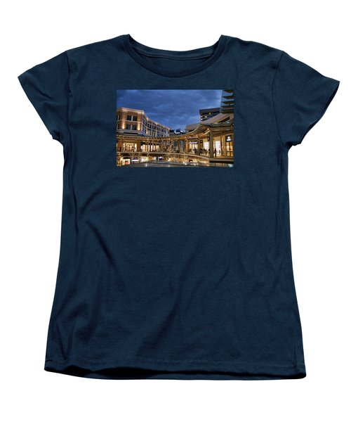 Women's T-Shirt (Standard Cut) featuring the photograph City Creek by Ely Arsha