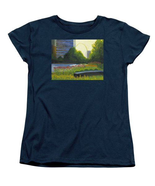 City Garden St. Louis Women's T-Shirt (Standard Cut) by Garry McMichael