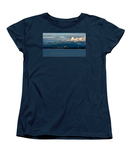 City Of Anchorage  Women's T-Shirt (Standard Cut) by Andrew Matwijec